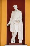 Gomel, Bielorrusia Estatua de Tchaikovsky en escuela del Musical del ` s de los niños Fotografía de archivo libre de regalías
