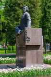 Gomel, a monument to Count Rumyantsev N.P Royalty Free Stock Photos