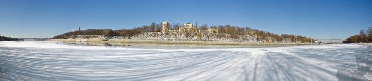 Gomel pałac Paskevich Obraz Royalty Free