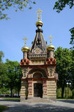 Gomel Palace and Park Ensemble. The tomb chapel Paskevich Stock Photos