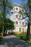 Gomel Palace and Park Ensemble, Tower Rumyantsev-Paskevich Palac Royalty Free Stock Photo