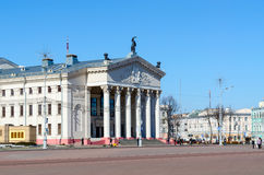 Gomel Regional Drama Theatre, Lenin Square Stock Photos