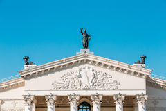 Gomel Regional Drama Theatre On The Main Square Of Royalty Free Stock Photo