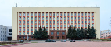 Gomel State Medical University, Street Lange 5 Royalty Free Stock Photos