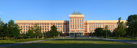 Gomel. State Technical University named P.O. Sukhoi Stock Image