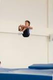 Gomel, Weißrussland - 12. November 2016: Sportwettbewerbe in der Akrobatik unter den Jungen und Mädchen im Jahre 2005-2006 gebore Lizenzfreies Stockbild