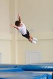 Gomel, Weißrussland - 12. November 2016: Sportwettbewerbe in der Akrobatik unter den Jungen und Mädchen im Jahre 2005-2006 gebore Stockfotos