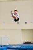 Gomel, Weißrussland - 12. November 2016: Sportwettbewerbe in der Akrobatik unter den Jungen und Mädchen im Jahre 2005-2006 gebore Stockbilder