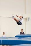 Gomel, Weißrussland - 12. November 2016: Sportwettbewerbe in der Akrobatik unter den Jungen und Mädchen im Jahre 2005-2006 gebore Lizenzfreies Stockfoto