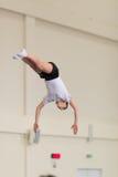 Gomel, Weißrussland - 12. November 2016: Sportwettbewerbe in der Akrobatik unter den Jungen und Mädchen im Jahre 2005-2006 gebore Lizenzfreie Stockbilder