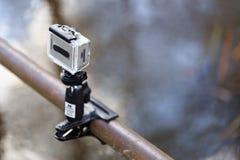 GOMEL, WEISSRUSSLAND - 12. April 2017: Actionfilm GoPro abgestimmt zum Schießen der Natur Stockfotos
