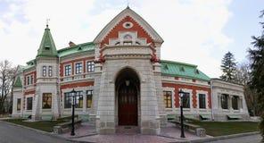 Gomelgebied, Zhlobin-district, DORPS RODE BANK, Wit-Rusland - Maart 16, 2016: De Gatovskymanor is een monument Royalty-vrije Stock Fotografie