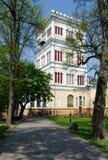 Gomelpaleis en Parkensemble, Toren rumyantsev-Paskevich Palac Royalty-vrije Stock Foto
