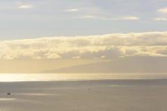 Gomera öpanorama Arkivfoton