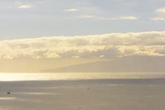 Gomera πανόραμα νησιών Στοκ Φωτογραφίες