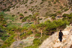 Gomera hiking Royalty Free Stock Images