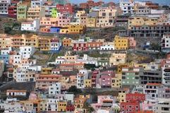 gomera la San Sebastian Arkivbilder