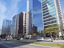 Gomes de Carvalho Avenue Royalty Free Stock Photos