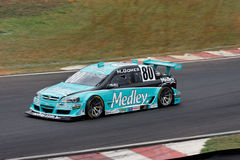 Gomes Racing Stock Car Interlagos Brazil Stock Photo