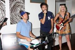 Gomez, Joshua Gomez, Zach Levi fotografia stock libera da diritti