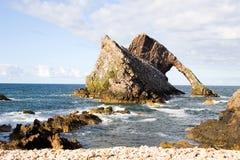 Gomito dei Fiddlers, Scozia Fotografia Stock