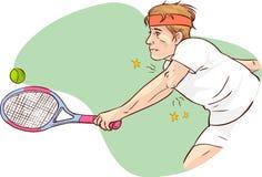 Gomito del tennista Fotografie Stock