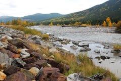 Gomito River Valley in autunno Immagini Stock Libere da Diritti