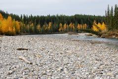 Gomito River Valley in autunno Fotografia Stock Libera da Diritti