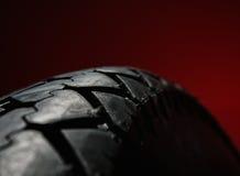 Gomma classica del motociclo Fotografie Stock Libere da Diritti