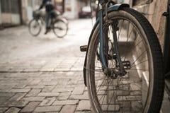Gomma della bicicletta Fotografie Stock Libere da Diritti