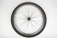 Gomma della bicicletta su bianco immagini stock libere da diritti