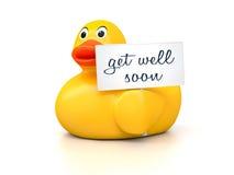 Gomma Ducky Immagine Stock Libera da Diritti