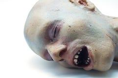 Gomma piuma di ricreazione di una testa umana Fotografia Stock