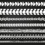 Gomma Tracks-02 del motociclo Fotografia Stock Libera da Diritti