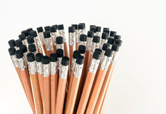 Gomme à l'extrémité du crayon Photos libres de droits