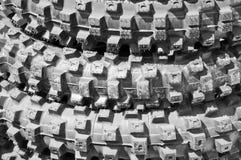 Gomme della bici della sporcizia Fotografia Stock
