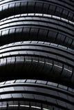 Gomme di automobile di estate Fotografie Stock