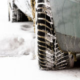 Gomme di inverno Fotografia Stock