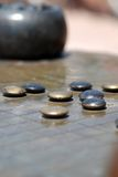 Gomoku or Gobang Game Royalty Free Stock Image
