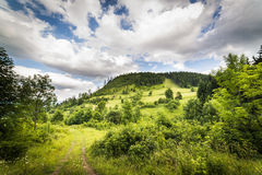 Gomolnik Maly - Suche Mountanins. Poland Royalty Free Stock Photos