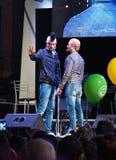 Gomorra 7 della parodia dei commedianti di Ross Neapolitan e di Gigi immagini stock libere da diritti
