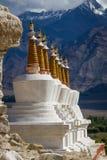 Gompa в индийских Гималаях стоковое изображение rf