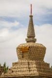Gompa в индийских Гималаях стоковая фотография rf