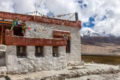 Gompa - тибетский буддийский висок в Ladakh, северном Стоковая Фотография RF