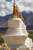 Gompa в индийских Гималаях стоковые изображения rf