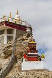 Gompa в индийских Гималаях стоковые фотографии rf
