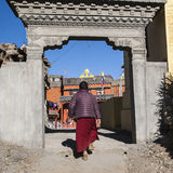 Gompa (Buddhist monastery) in Jharkot Royalty Free Stock Image