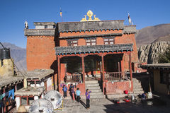 Gompa (Buddhist monastery) in Jharkot Royalty Free Stock Images
