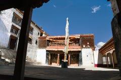 Gompa de Karsha - monasterio budista en el valle de Zanskar fotos de archivo libres de regalías