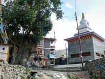 Free Gompa In Ngawal Village, Nepal Royalty Free Stock Image - 54756406